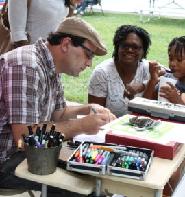Randall Spriggs Illustrator | Midwest Salute to the Arts Festival Children's Entertainment