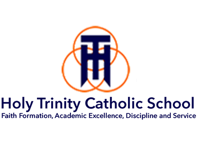 Holy Trinity Catholic School Logo | Midwest Salute to the Arts Festival Sponsors