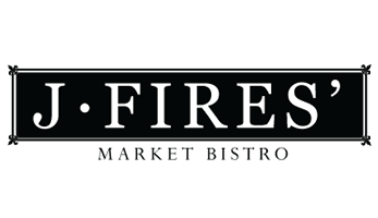 Market Bistro J. Fires' Logo | Midwest Salute to the Arts Festival Sponsors