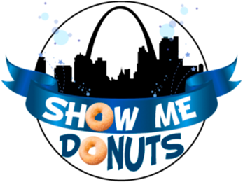 Show Me Donuts Logo | Midwest Salute to the Arts Festival Sponsors
