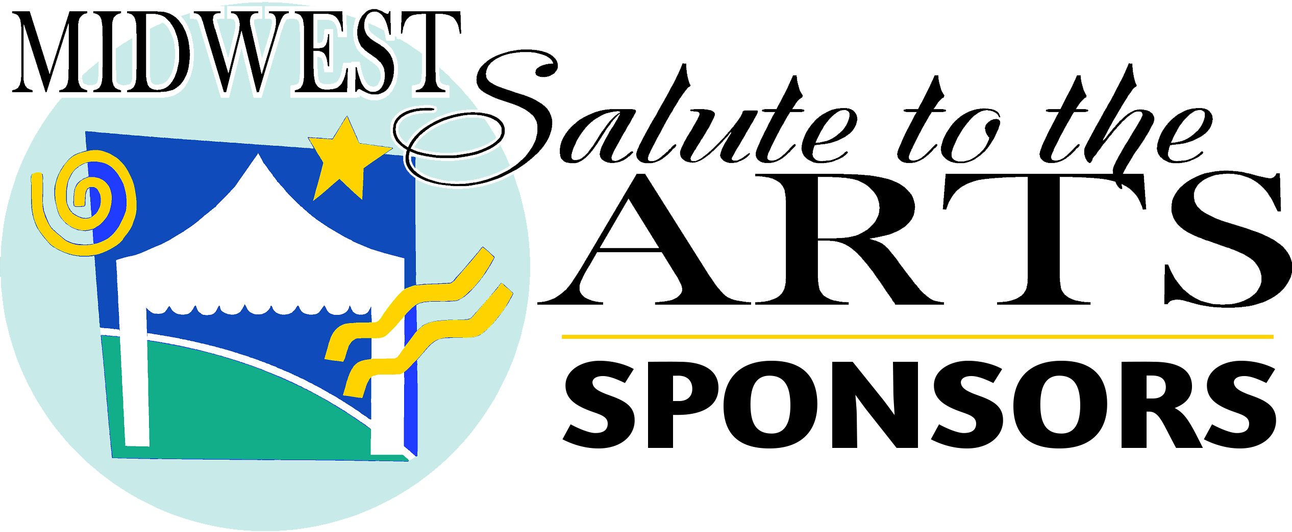 Midwest Salute to the Arts Festival Logo Sponsors