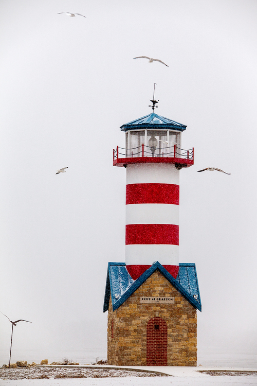 Locus Lighthouse Whiteout